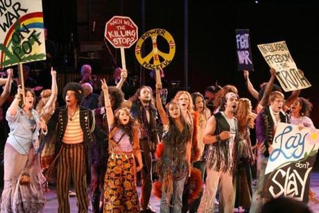 "The Diane Paulus-directed revival of the antiwar musical ""Hair"" resonated differently than the 1967 original, produced when there was a draft."